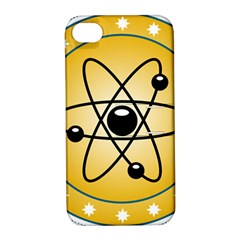Atom Symbol Apple Iphone 4/4s Hardshell Case With Stand