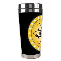 Atom Symbol Stainless Steel Travel Tumbler
