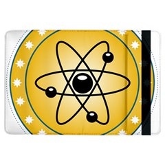 Atom Symbol Apple iPad Air Flip Case