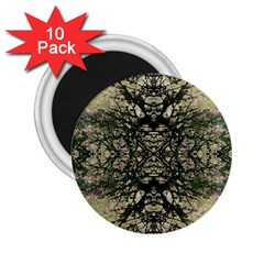 Winter Colors Collage 2.25  Button Magnet (10 pack)