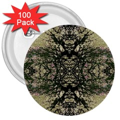 Winter Colors Collage 3  Button (100 Pack)