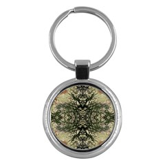 Winter Colors Collage Key Chain (Round)
