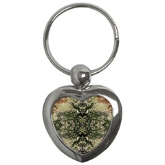 Winter Colors Collage Key Chain (Heart)