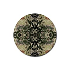 Winter Colors Collage Drink Coaster (Round)