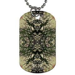 Winter Colors Collage Dog Tag (Two-sided)