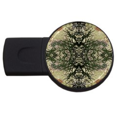Winter Colors Collage 2gb Usb Flash Drive (round)