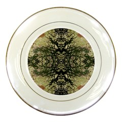 Winter Colors Collage Porcelain Display Plate