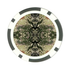 Winter Colors Collage Poker Chip