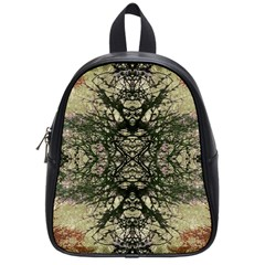Winter Colors Collage School Bag (small)