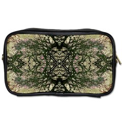 Winter Colors Collage Travel Toiletry Bag (one Side)