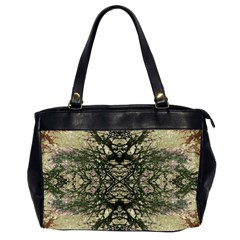 Winter Colors Collage Oversize Office Handbag (two Sides)