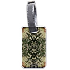 Winter Colors Collage Luggage Tag (One Side)