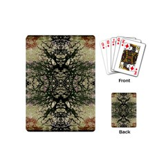 Winter Colors Collage Playing Cards (Mini)