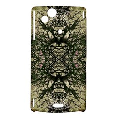 Winter Colors Collage Sony Xperia Arc Hardshell Case