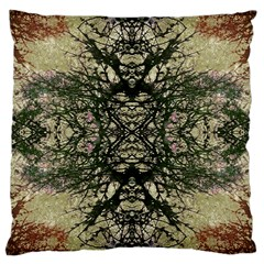 Winter Colors Collage Large Cushion Case (two Sided)