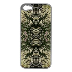 Winter Colors Collage Apple Iphone 5 Case (silver)