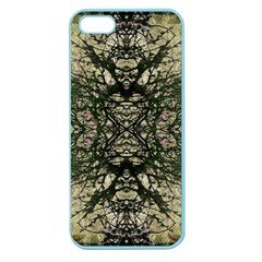 Winter Colors Collage Apple Seamless Iphone 5 Case (color)
