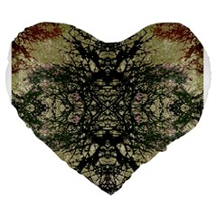 Winter Colors Collage 19  Premium Heart Shape Cushion