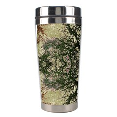 Winter Colors Collage Stainless Steel Travel Tumbler