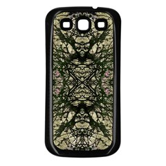 Winter Colors Collage Samsung Galaxy S3 Back Case (Black)