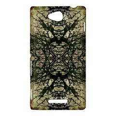 Winter Colors Collage Sony Xperia C (S39H) Hardshell Case