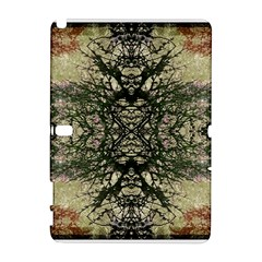 Winter Colors Collage Samsung Galaxy Note 10.1 (P600) Hardshell Case