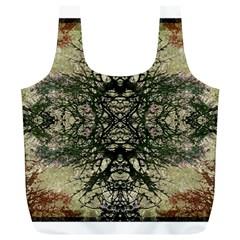 Winter Colors Collage Reusable Bag (XL)