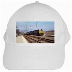 The Circus Train White Baseball Cap