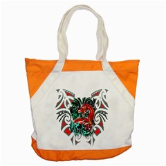Tribal Dragon Accent Tote Bag