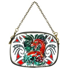 Tribal Dragon Chain Purse (one Side)