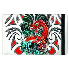Tribal Dragon Apple Ipad 2 Flip Case
