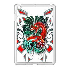 Tribal Dragon Apple iPad Mini Case (White)