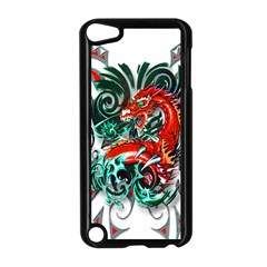 Tribal Dragon Apple Ipod Touch 5 Case (black)