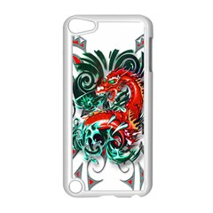 Tribal Dragon Apple Ipod Touch 5 Case (white)