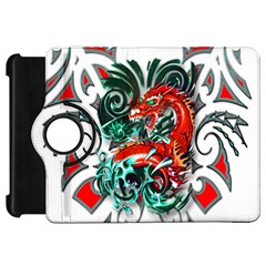 Tribal Dragon Kindle Fire HD 7  (1st Gen) Flip 360 Case