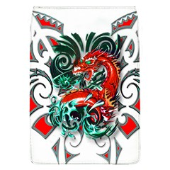 Tribal Dragon Removable Flap Cover (Large)