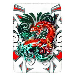 Tribal Dragon Removable Flap Cover (Small)