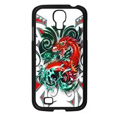 Tribal Dragon Samsung Galaxy S4 I9500/ I9505 Case (black)