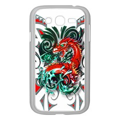 Tribal Dragon Samsung Galaxy Grand Duos I9082 Case (white)