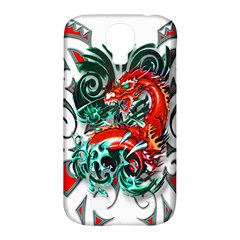 Tribal Dragon Samsung Galaxy S4 Classic Hardshell Case (PC+Silicone)