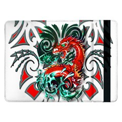 Tribal Dragon Samsung Galaxy Tab Pro 12 2  Flip Case