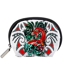 Tribal Dragon Accessories Pouch (Small)