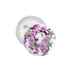 Cherry Bloom Spring 1 75  Button