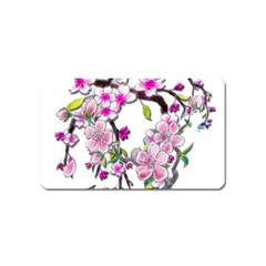 Cherry Bloom Spring Magnet (Name Card)