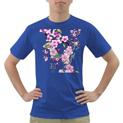 Cherry Bloom Spring Men s T Shirt (colored)
