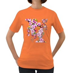 Cherry Bloom Spring Women s T-shirt (Colored)