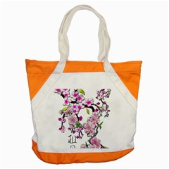 Cherry Bloom Spring Accent Tote Bag