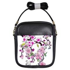 Cherry Bloom Spring Girl s Sling Bag