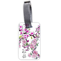 Cherry Bloom Spring Luggage Tag (One Side)