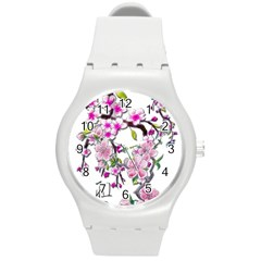 Cherry Bloom Spring Plastic Sport Watch (medium)